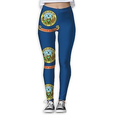 VDSFEE1DR Idaho Women's Printed Yoga Pants