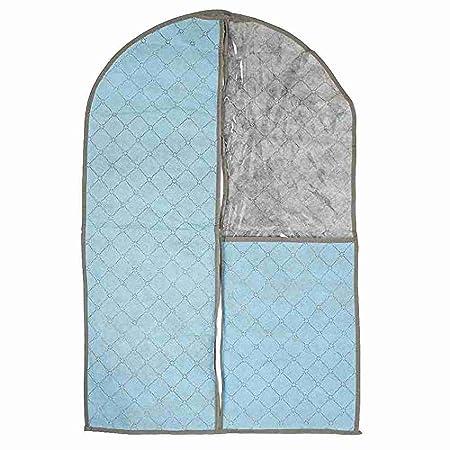 Azul Cuadrícula Imprimir traje de polvo vestido de ropa cubierta ...