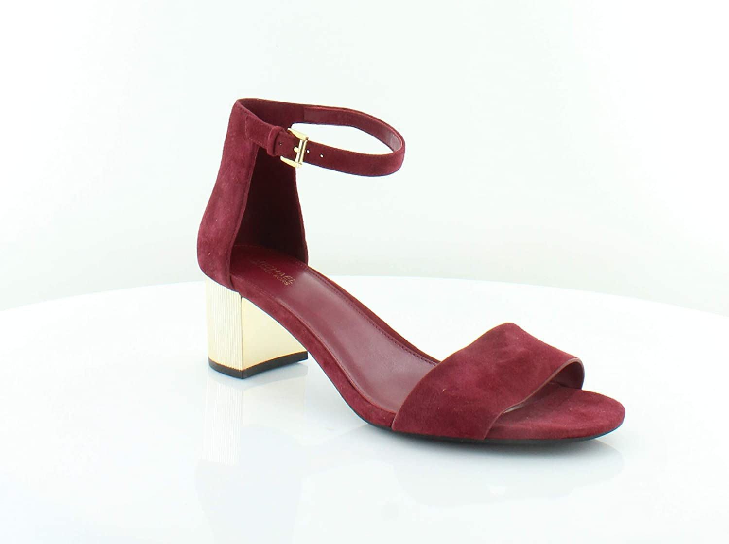 23cae63386 Michael Kors Womens Paloma Open Toe Casual Strappy, Mulberry Suede, Size  10.0 US / 8 UK US: Amazon.co.uk: Shoes & Bags