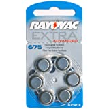 Rayovac Extra HA675, PR44, 4600 uditive Batterie 6-pack