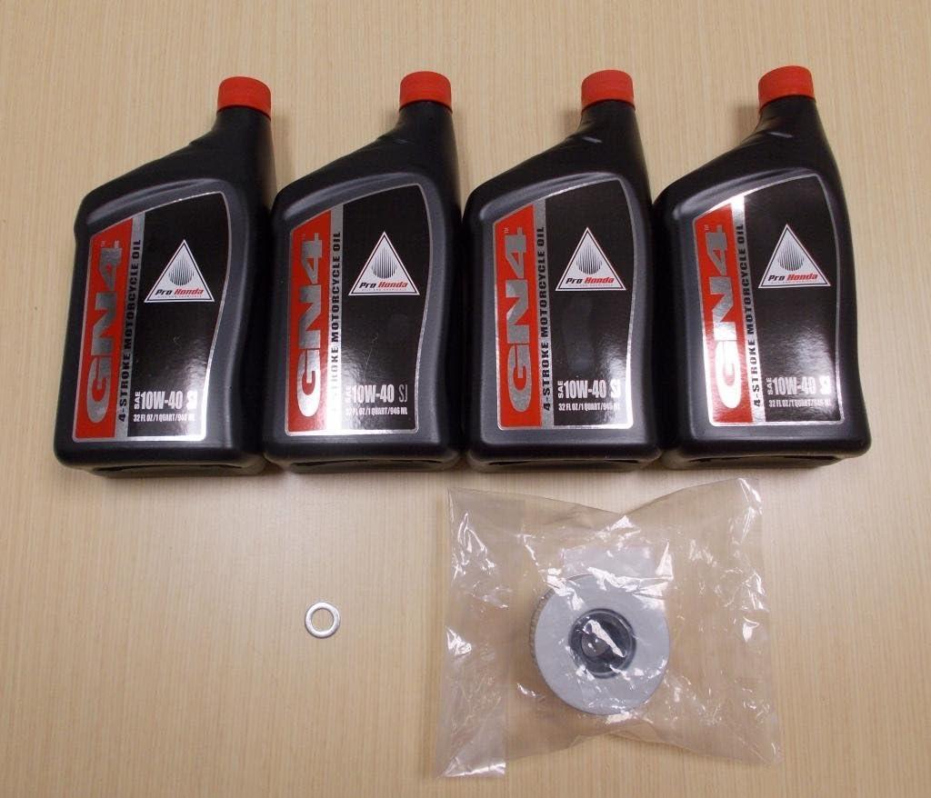 Kit de servicio de aceite básico para Honda TRX 650 TRX650 TRX650FA Rincon ATV OE