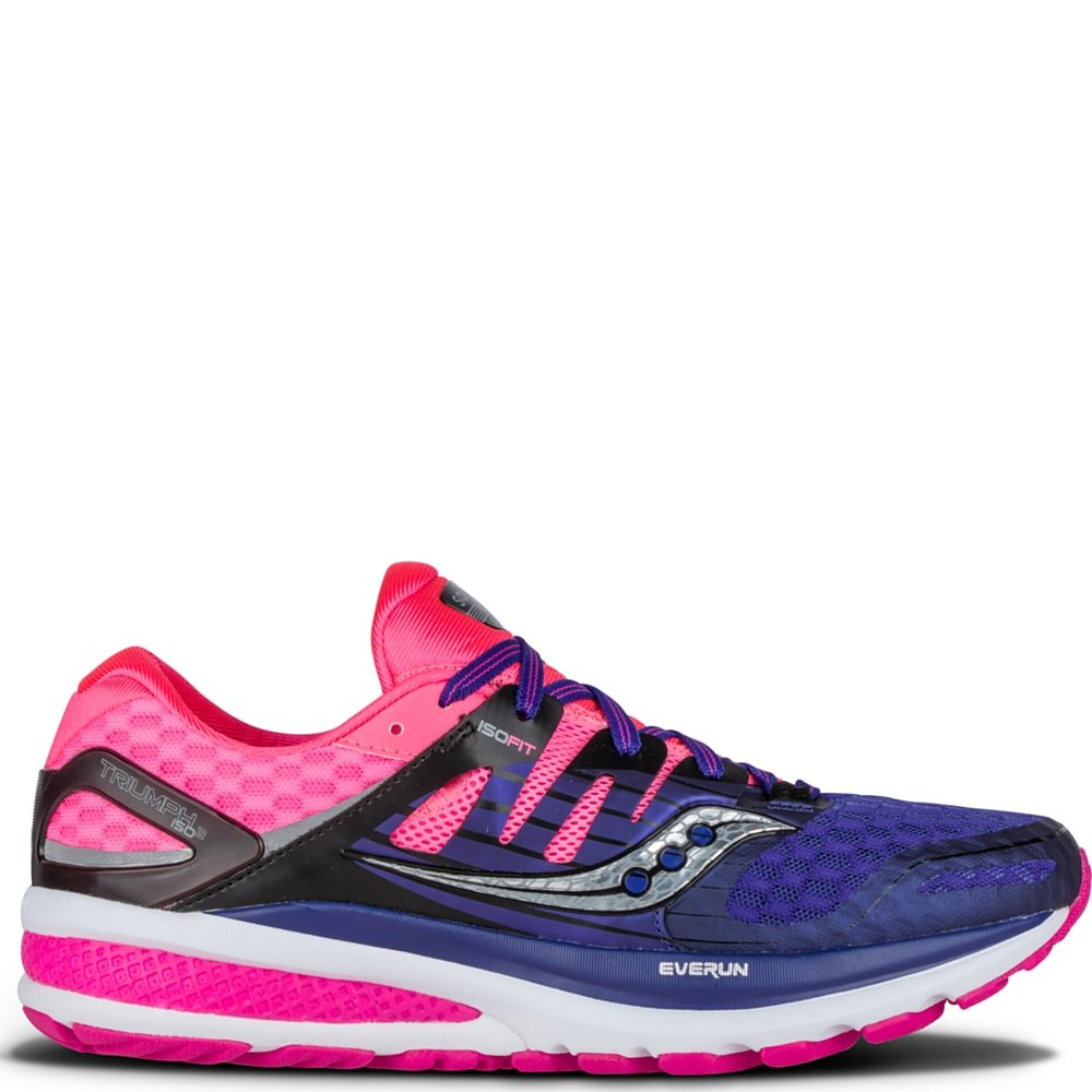 Saucony Triumph ISO 2 W - Entrenamiento y Correr Mujer