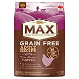 Nutro MAX Grain Free Adult Recipe With Farm Raised Chicken Dry Dog Food, (1) 25-lb. bag; Rich in Nutrients and Full of Flavor