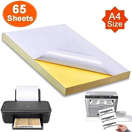 Magicdo Etiquetas autoadhesivas para impresoras de inyección ...
