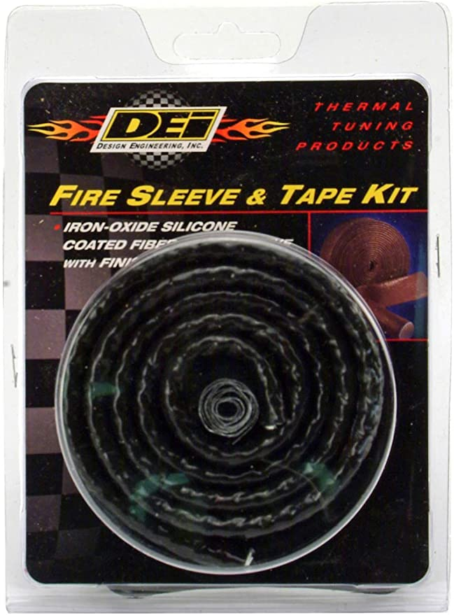 3//4 x 4 ft Premium High Temp and Performance Silicone Firesleeve and Heat Shield to Protect Hoses Fuel Lines and Electrical Wires Eaton Aeroquip High Performance #624-12 FBS1200 Fire Sleeve