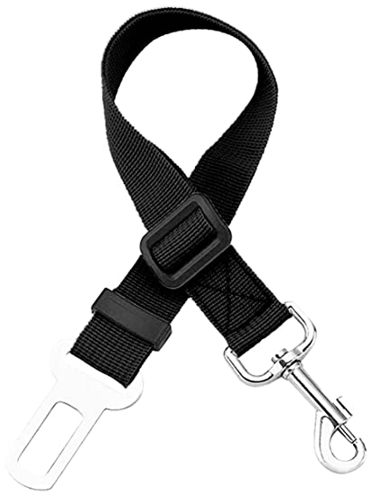 Pet Ninja Adjustable Pet Dog Seat Belt Durable Pet Dog Cats Car Vehicle Seatbelt Harness Pet Safety Leash Leads for Pets Dogs Cats