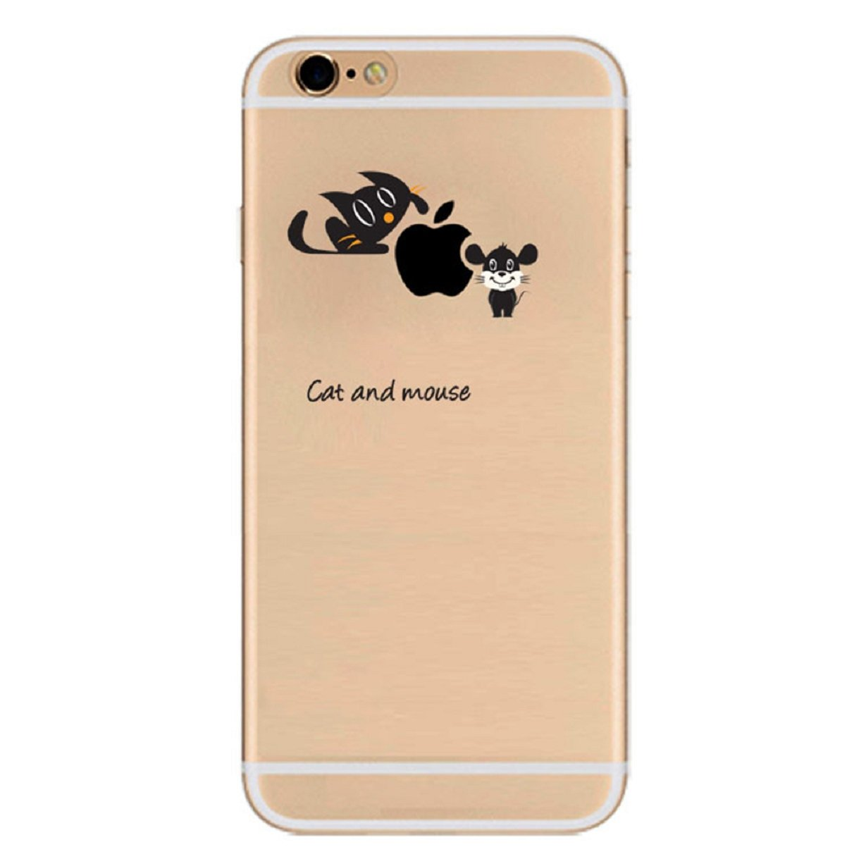 iPhone 6 Case, iPhone 6S Case GUARD Dull Polish Cool Shivering Pattern Solid TPU Silicone Gel Back Thin Cover Skin Soft Cartoon Case for iPhone 6 6S 4.7 Inch (Color 7) Axixi
