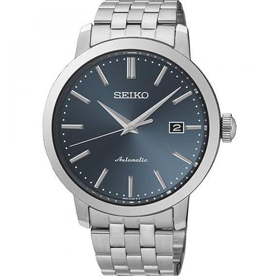 Seiko Reloj Analógico Automático para Hombre con Correa de Acero Inoxidable – SRPA25K1