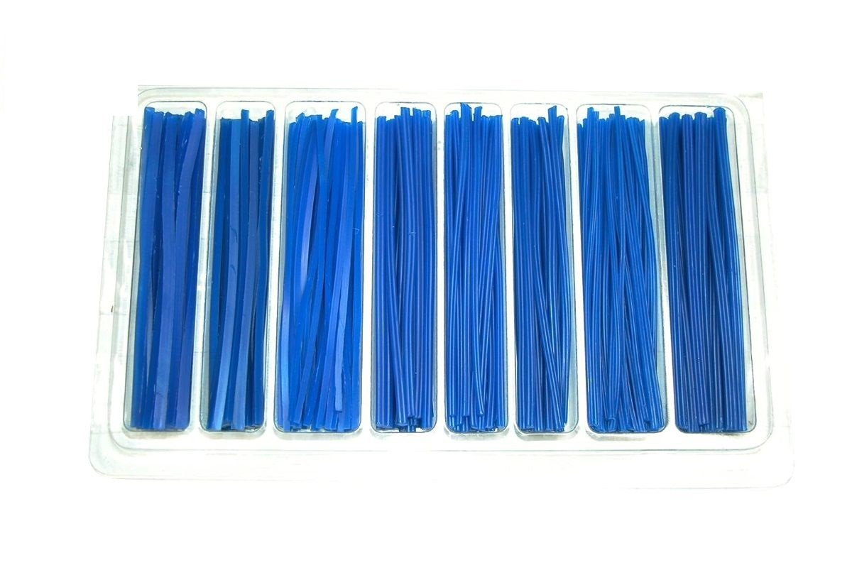 Wax wire assortment No.3 RECTANGLE 2, 4, 6, 8, 10, 12 SQUARE 12, 14 Paaz Jewelry Supply 21.405