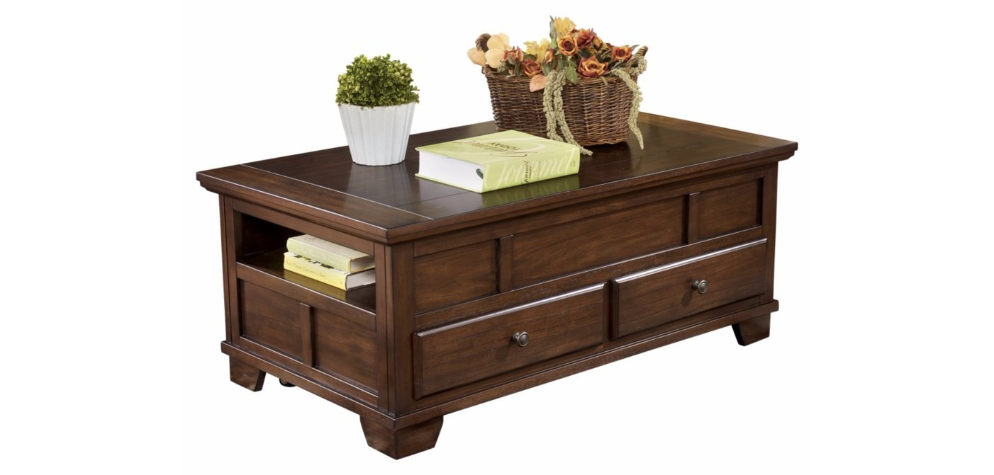 Amazon ashley furniture signature design gately coffee amazon ashley furniture signature design gately coffee table rectangular lift top medium brown kitchen dining geotapseo Images