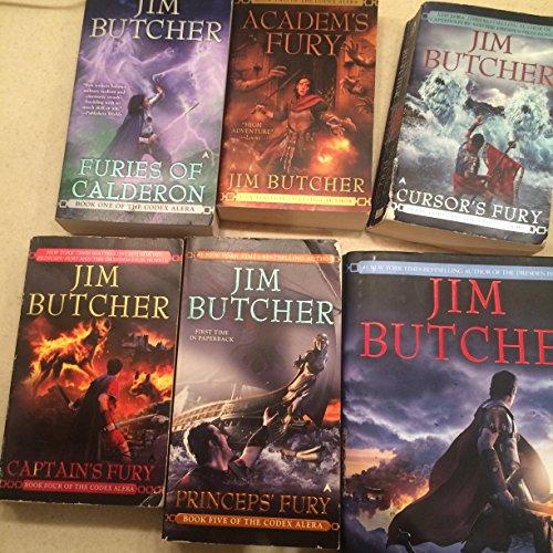 Codex Alera Series Complete Set, 6 Book Collection, By Jim Butcher, Volumes 1-6 (Furies of Calderon / Academ's Fury / Cursor's Fury / Captain's Fury / Princep's Fury / First Lord's Fury) (First Lord Fury Butcher compare prices)