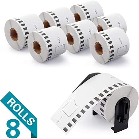 1 DK 1209 Replacement Roll Compatible w// Brother w// Frame