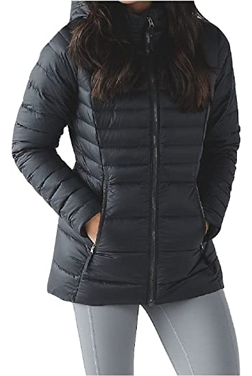 Lululemon Down For It Jacket 700 Fill Goose Down Puffer (4, Black)