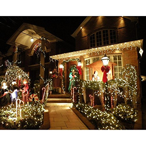 Solar String Lights 72ft 200 LED Fairy Lights Ambiance lights for Outdoor P