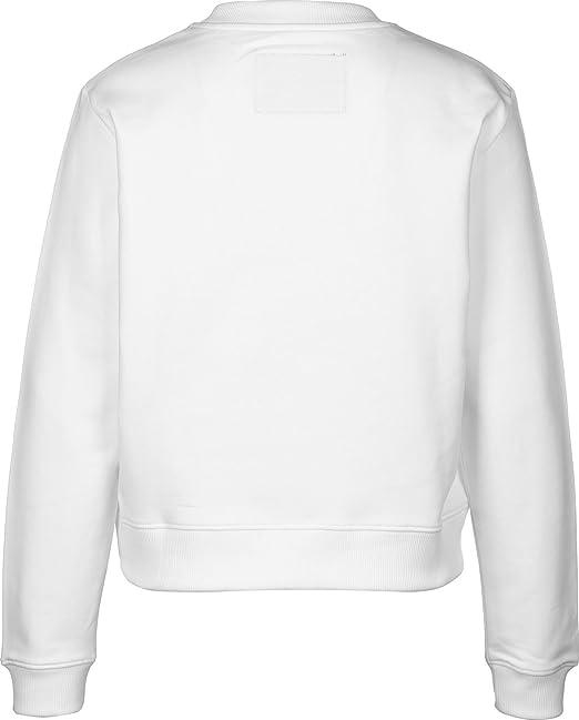 Sudadera Calvin Klein Jeans Hebe Blanco L Blanco: Amazon.es: Ropa y accesorios