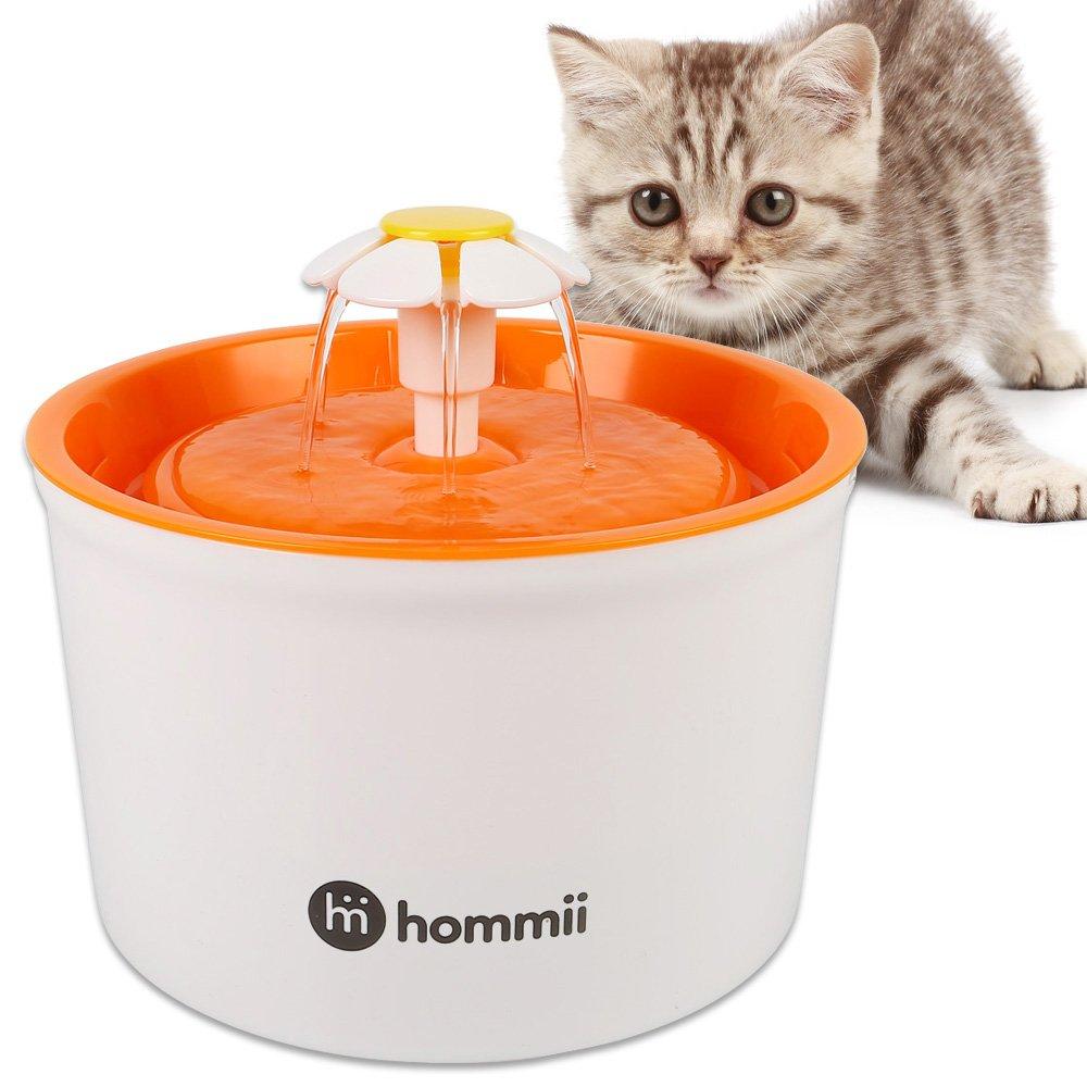 Hommii Fontaine à Fleur filtres pour Chat animal 2 pcs Water Fountain Filters