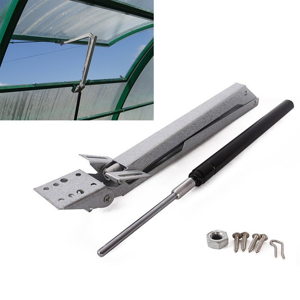 Automatic Window Opener, Solar Heat Sensitive Greenhouse Autovent Vent Opener Standard-Lifts 15 Lbs