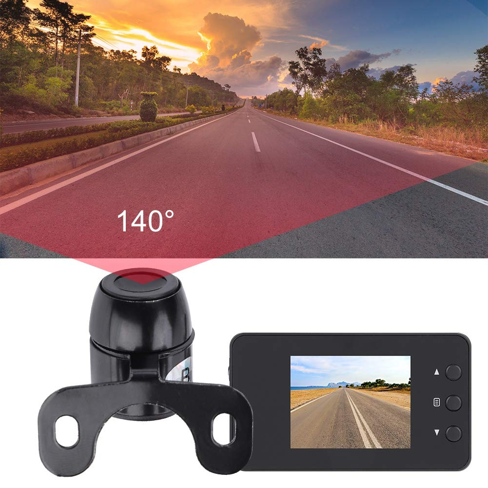 Security Camera for Home School Office Automobile Data Recorder Video Recorder Eboxer Mini Dual Waterproof Sport Camera for Car Bike