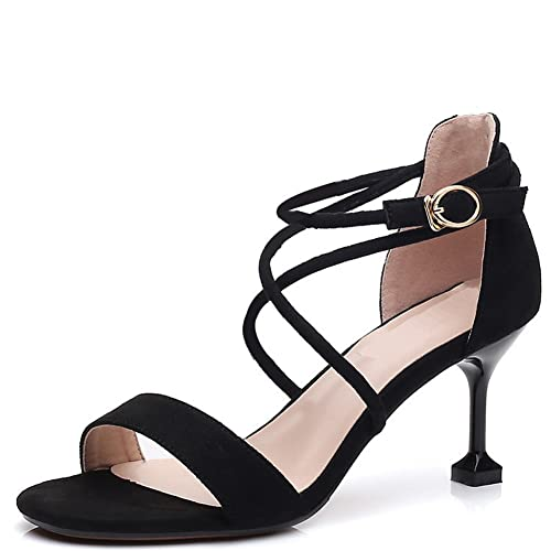 Color : 5, Size : 23 EU YJiaJu Dance Shoes Canvas Yoga Shoes Cat Claw Ballet Shoes Leather Non-Slip Bottom for Girl Women