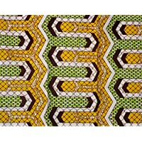 Ankara Fabric- African Print Clothing Designs - Wax Material For Fashion, Dresses, Top, Skirt, Jewelry, Shoes,...