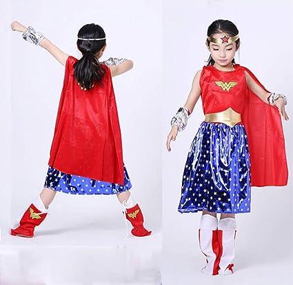 Halloween Ropa De Superman Cosplay Traje De Mujer Maravilla ...