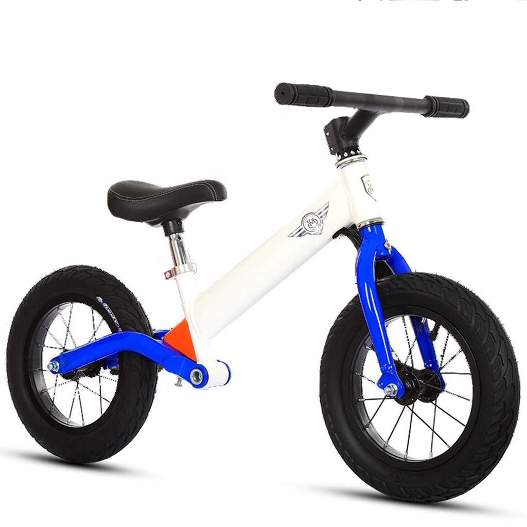 Blau Laufräder Air Tire Balance Bike - Aluminium 32cm (13 Zoll) Mädchenfahrrad mit Stoßdämpfer (Farbe   Blau)