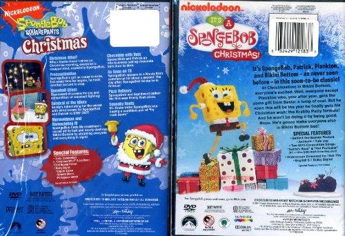 amazoncom nickelodeon christmas dvd double pack its a spongebob christmas spongebob squarepants christmas movies tv - Spongebob Christmas Who