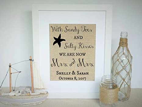 Amazoncom Prints Prints Prints Lesbian Wedding Gift For Couple