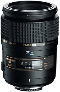 Tamron SP AF 90mm F/2.8 Di Macro Lens for Nikon Camera  Black