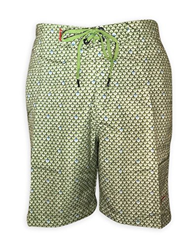 Just Speed Fashion Swim Mens Scales 3 Styles (Large, Green)