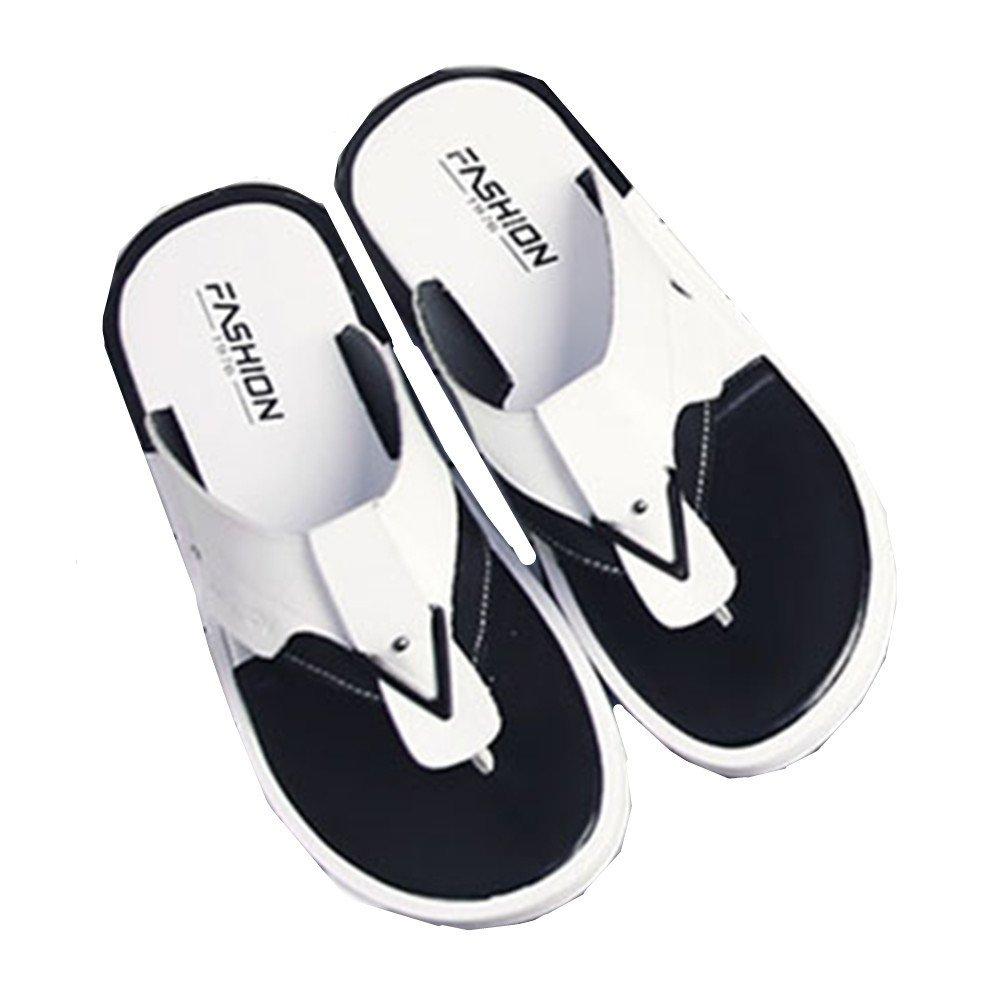 Sharon Zhou Zapatillas para Hombre Sandalias de Playa para Hombres Personalidad Simple Código Pequeño Chanclas de Verano Tanto bajo el Agua como en Tierra Son adecuadas (Size : 38 2/3 EU) 38 2/3 EU