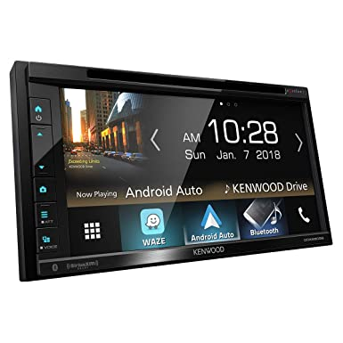 KenwKenwood DDX6905S 6.8in 2-DIN Multimedia DVD Receiver Renewed