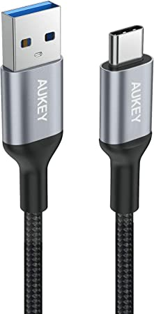 AUKEY USB C 3.0 Cable to USB A USB Type C Charging: Amazon.de: Computers & Accessories