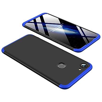 check out 8a811 87318 ECOSMOS ® VIVO Y83/Y83 Case 3 in1 360º Anti Slip Super Slim Back Cover for  VIVO Y83/Y83 (Blue and Black)