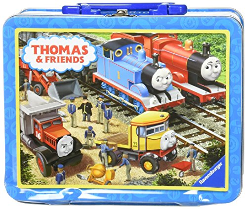 Ravensburger -Thomas & Friends  Tin Box Puzzle -  Making Repairs 35 Piece Jigsaw Puzzle for Kids - Every Piece is Unique, Pieces Fit Together Perfectly