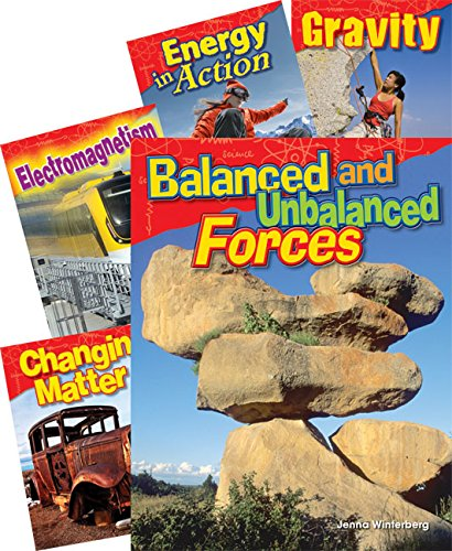 (Teacher Created Materials - Science Readers: Content and Literacy: Physical Science - 5 Book Set - Grade 3 - Guided Reading Level O - Q)