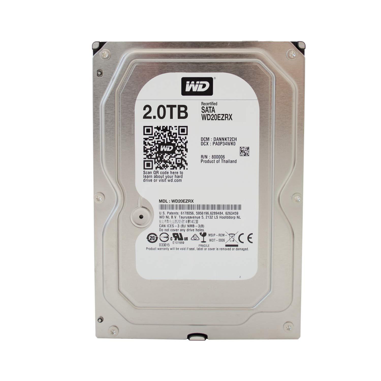 """Sata 6 Gb//s 64MB C WD Recertified 2 TB Desktop Hard Drive Intellipower 3.5/"""""""