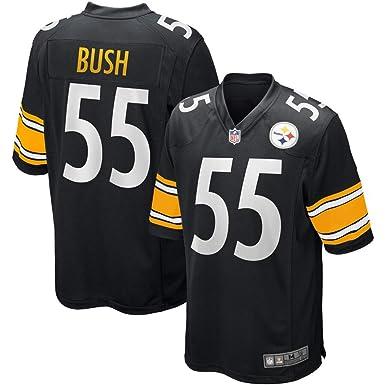 the latest e642e 2fb85 Amazon.com: Men's #55 Devin Bush Pittsburgh Steelers 2019 ...