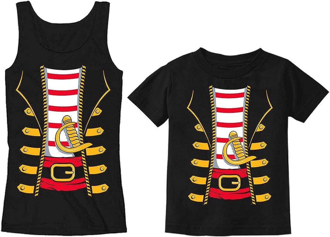 Tstars Disfraz de Pirata para mamá, Disfraz de Halloween para ...