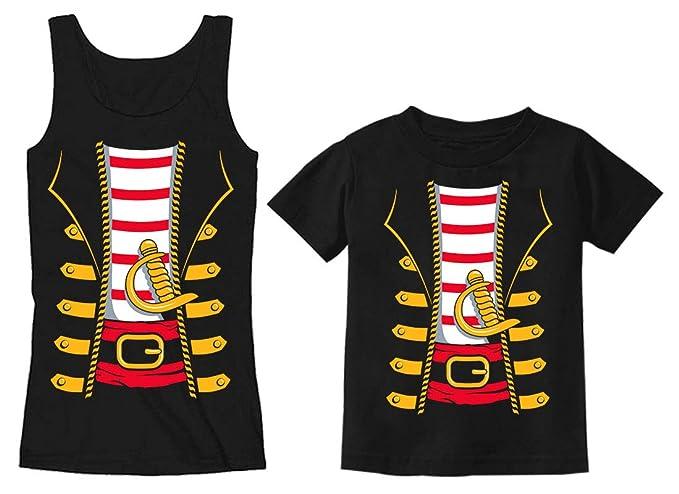 0e05f82b Amazon.com: Mom Toddler Pirates Halloween Costume Matching Set ...