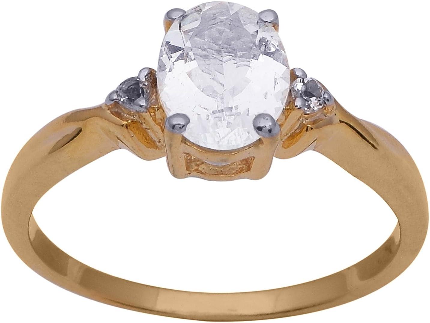 Shine Jewel Calcedonia aguamarina con circonita cúbica piedra preciosa 925 anillo de plata esterlina para mujer