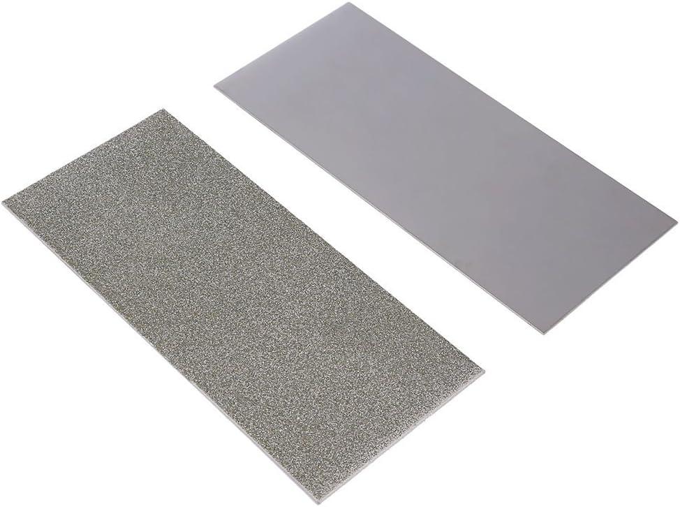 1000 K/örnung Schleifen Polieren Diamantplatte Sch/ärfstein Schleifstein 240-3000 K/örnung N/ützlich