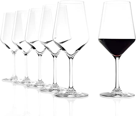 Vino tinto vino copas de vino de arquitecto de Star y expertos diseñado para perfecto disfrute,Borgo