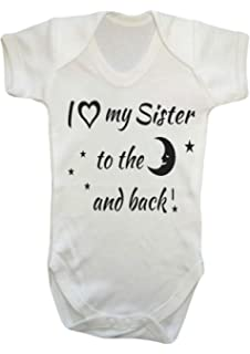 Back Off I Have A Big Sister Baby Grow New All Sizes