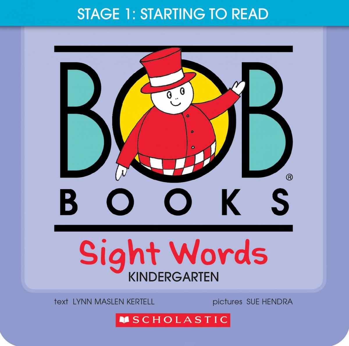 Amazon.com: Bob Books Sight Words: Kindergarten (9780545019231 ...