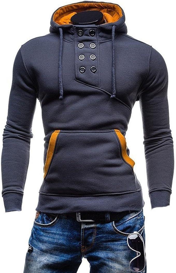 KiwiTwo Herren Longsleeve Sweatshirt T Shirt Shirt Hoodie