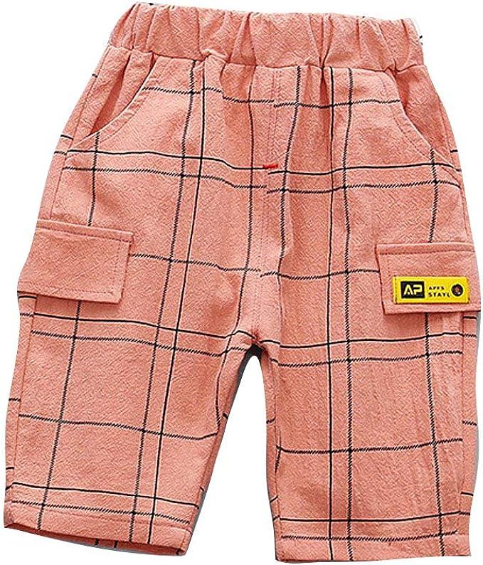 Verano Ropa Bebe Pantalones Cortos de Algodón Niños y Niñas Ropa ...