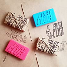 2 Pcs/Lot ~ Fight Club 1999 Dramatic Action Movie Bar of Soap Handmade by - New, Pink & Blue