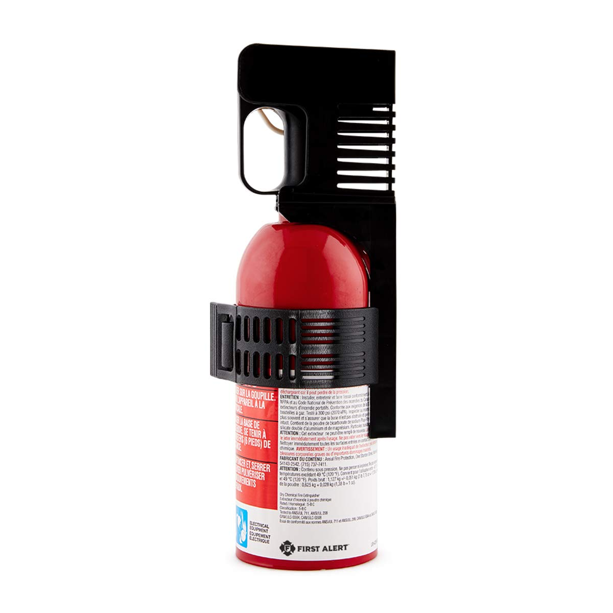 First Alert Fire Extinguisher | Car Fire Extinguisher, Red, AUTO5
