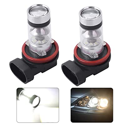 LED Bulbs Headlights Bulbs Super White for POLARIS Ranger RZR 570S 800S 900S 1000 XP Light 12V 100W: Automotive
